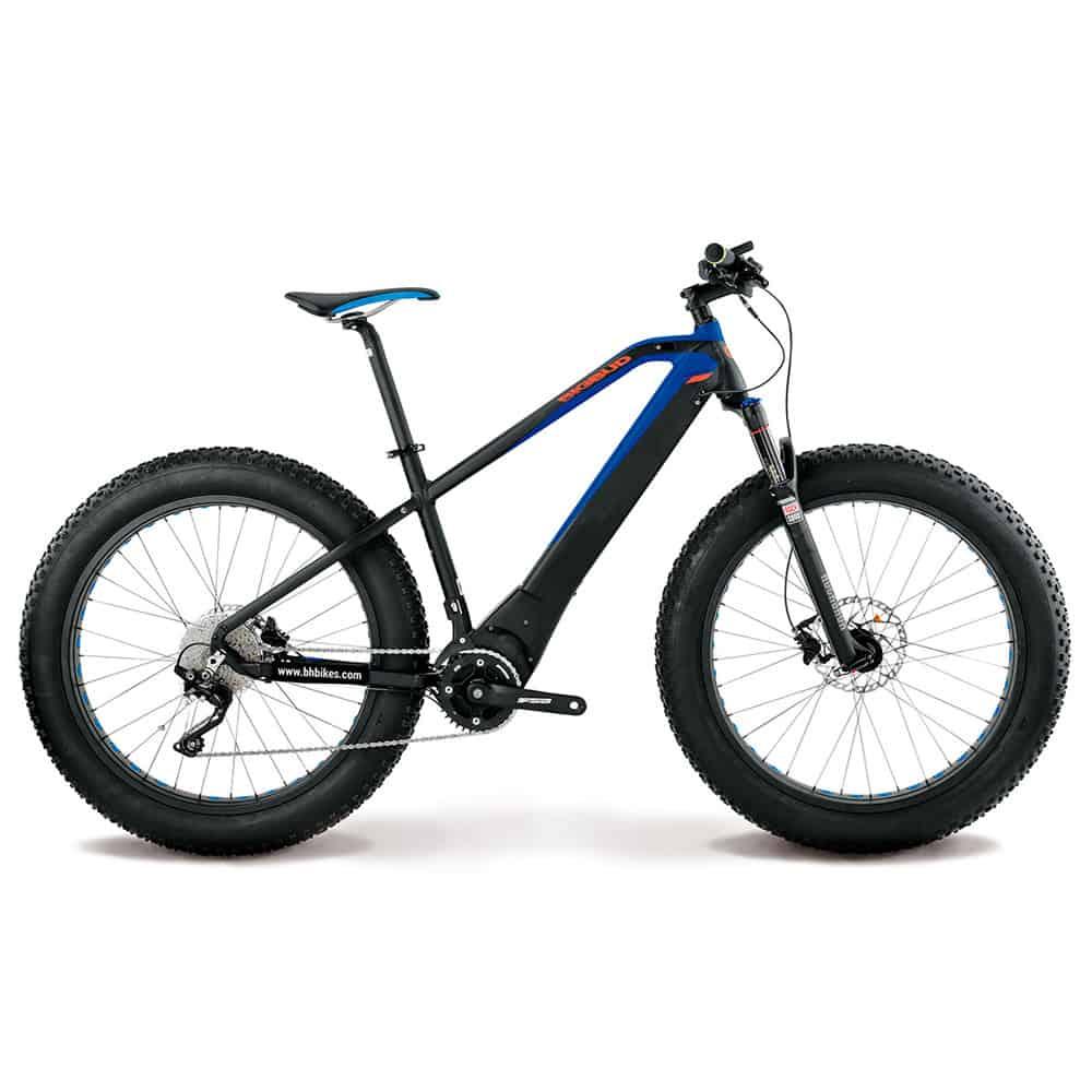 Sähköavusteinen polkupyörä BH Atom Big Bud sähköläski.
